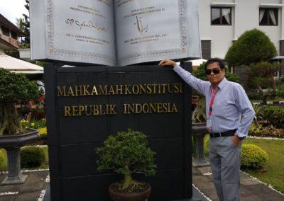 Belajar di Pusdiklat MK di Cisarua Bogor